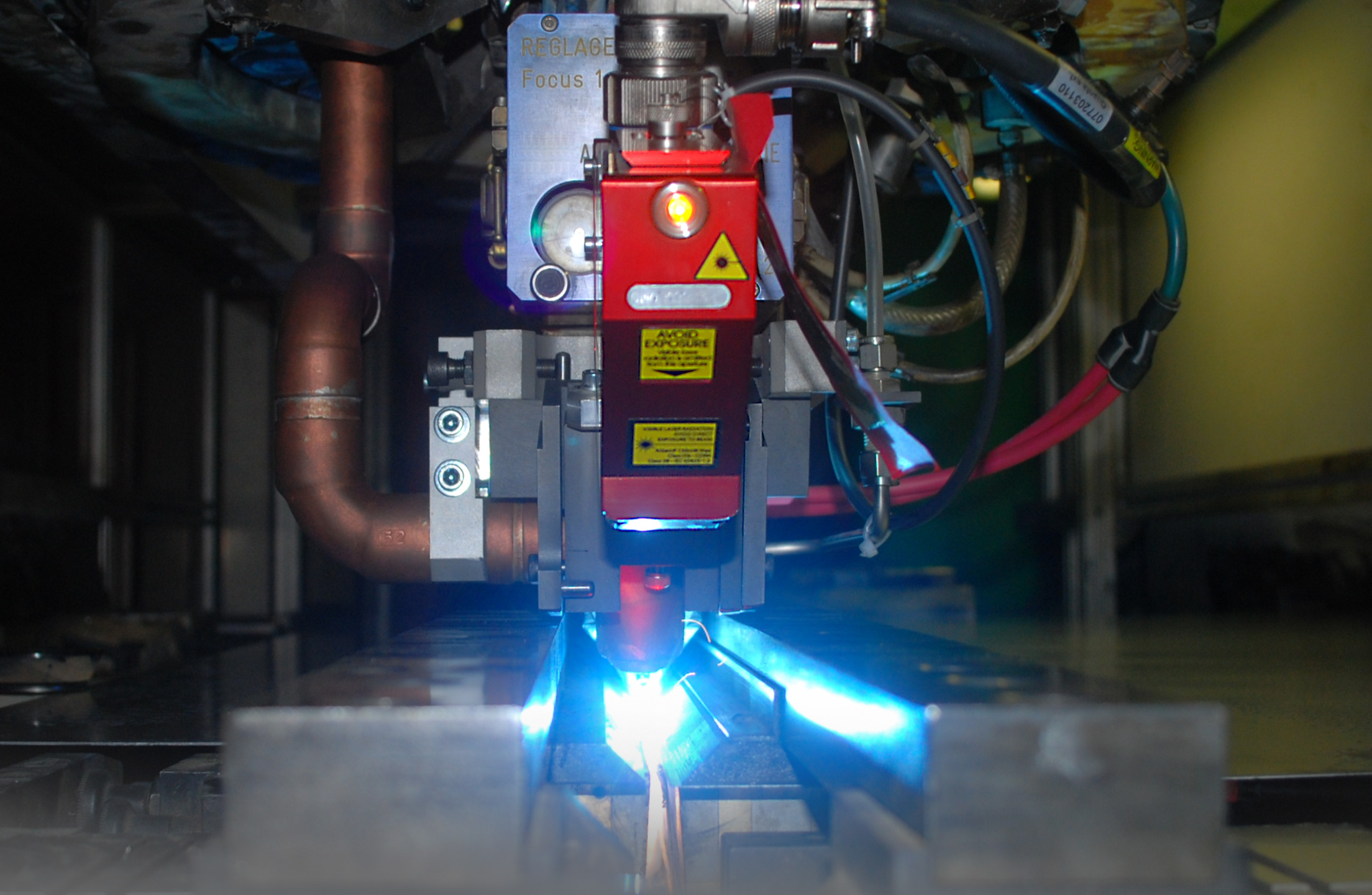 Laser Weld Inspection with LAS-SCAN Image courtesy of Maser Engineering