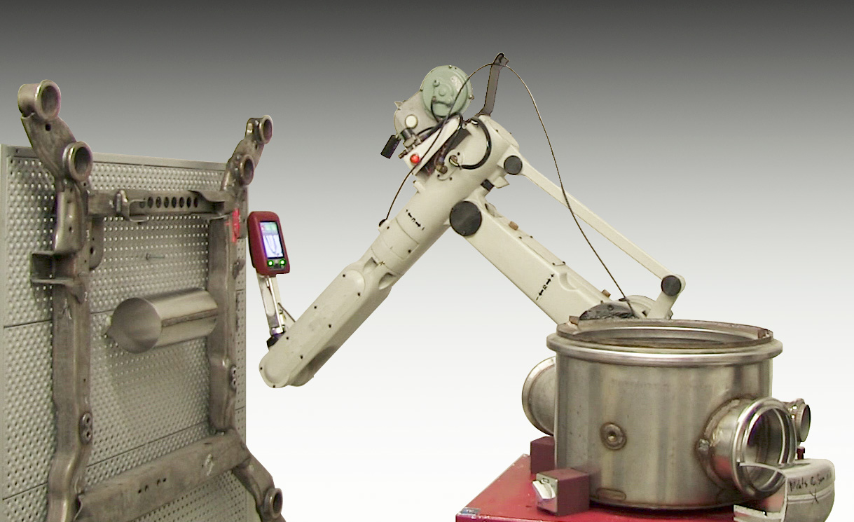 Arc Weld Inspection with WiKi-SCAN/ROBO™