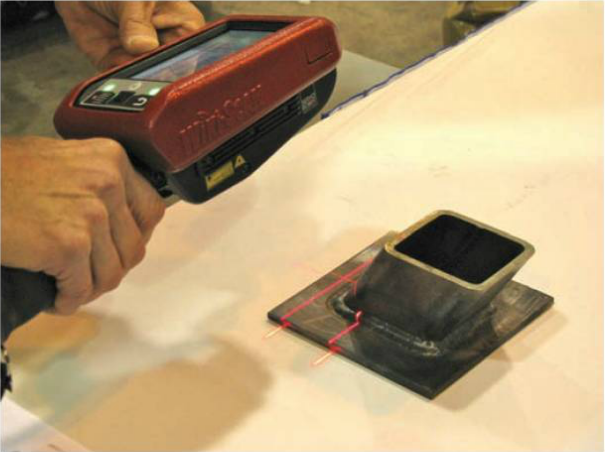WiKi-SCAN™ used at FABTECH 2013 in Welding Contest