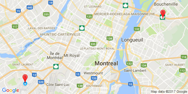 Pierre-Elliot Trudeau International Airport to NOVOTEL HOTEL, Montreal downtown
