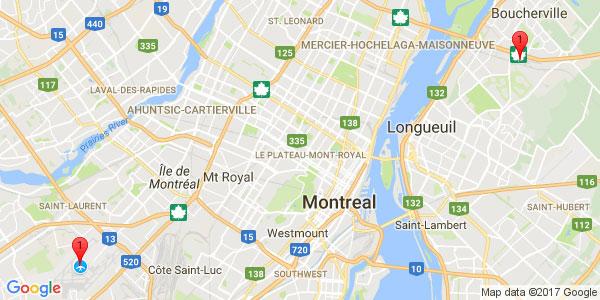 Pierre-Elliot Trudeau International Airport to NOVOTEL HOTEL, Montreal downtown