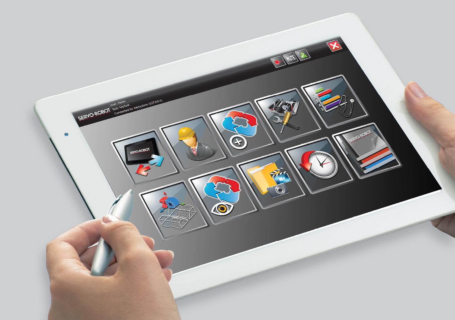 FRUIT - FRIENDLY USER INTERFACE TECHNOLOGY FOR SERVO-ROBOT 3D robotvision™ SYSTEMS