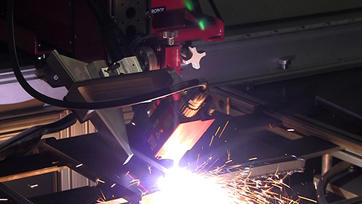 Automated Plasma Beveling and Cutting with MWR-350