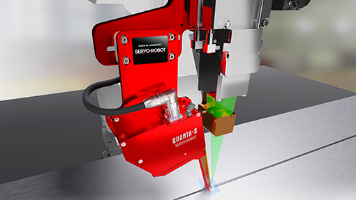 LAS-TRAC/MICRO for robotic laser welding, laser hybrid welding & laser brazing by SERVO-ROBOT